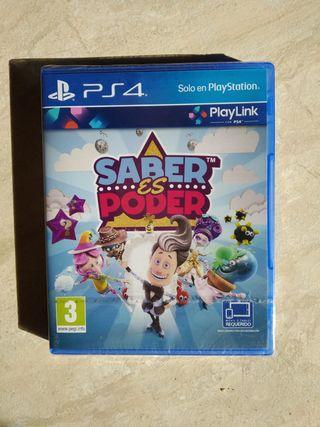Juego PS4 - Saber es Poder (Precintado)