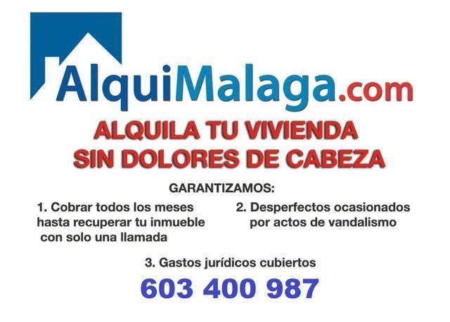 Alquila tu propiedad con ALQUIMALAGA (Maqueda, Málaga)