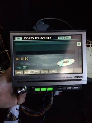 Alpine ,radio CD DVD táctil Alpine IVA d300r