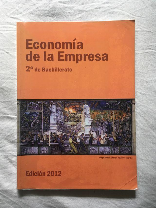 Libro texto Economía de la empresa