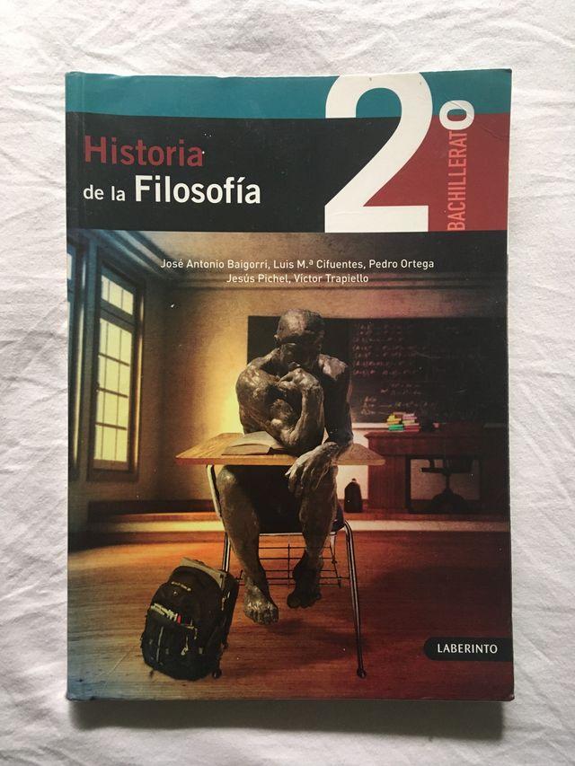 Libro texto Historia de la Filosofía
