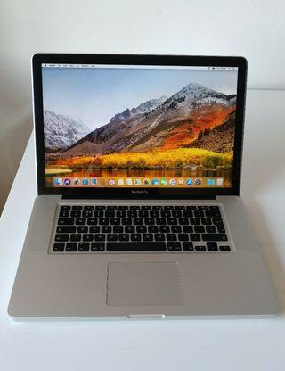 "MacBook Pro 15"" late 2011 (muy cuidado)"
