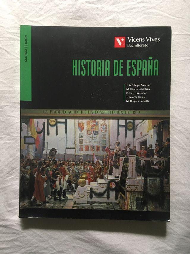 Libro de texto Historia de España