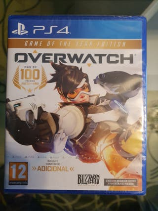 OVERWATCH GAME OF THE YEAR EDITION - PS4 - PAL ESP