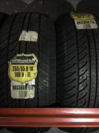 RUEDAS 255/55 R18 SUPER OFERTA EN 4X4!!!