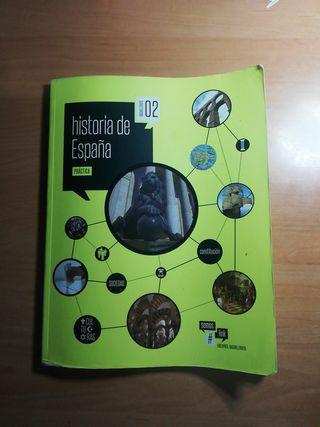 Libro de historia de España se 2 bachillerato