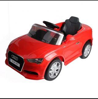 coche eléctrico niños Audi a3