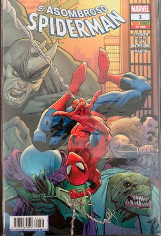 Comics El asombroso Spiderman 1-3