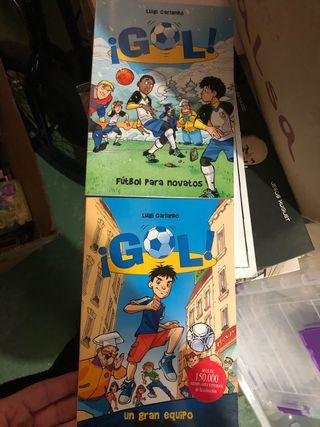 Libro infantil Gol