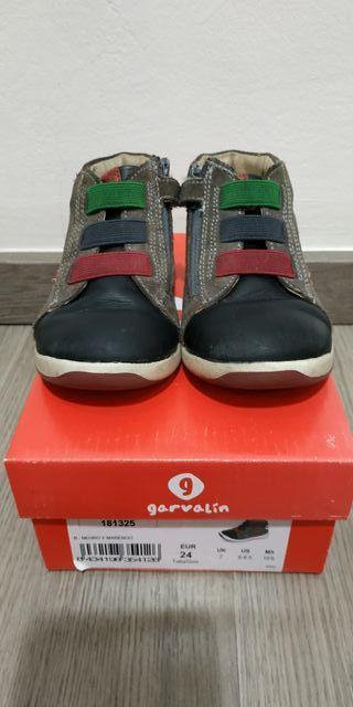 zapatos garvalin niño talla 24