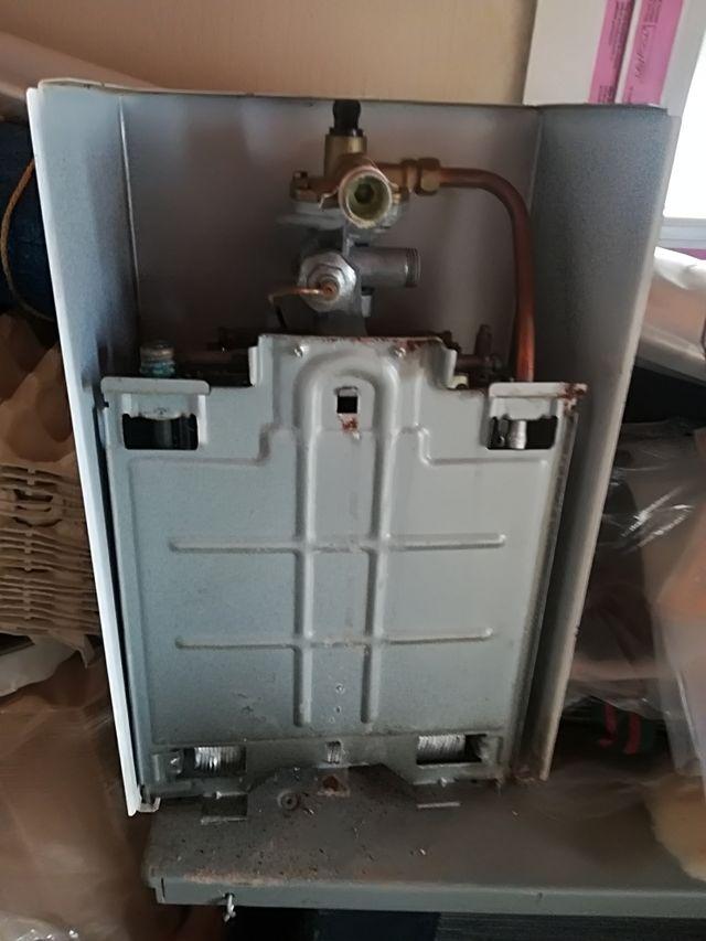 calentador de gas butano