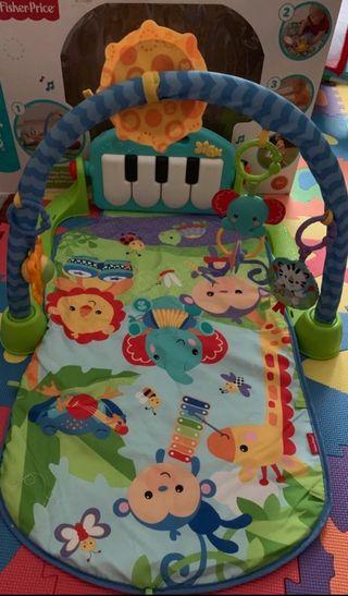 Manta juego bebé piano