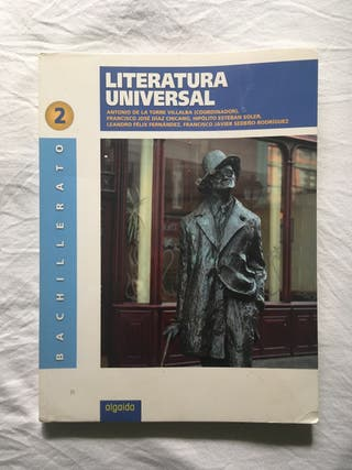 Libro texto Literatura Universal