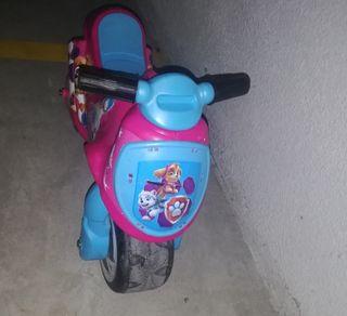 moto infantil patrulla canina