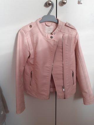 chaqueta cuero niña