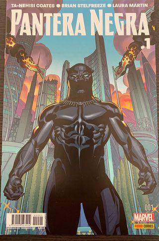 Comics Pantera Negra 1-6
