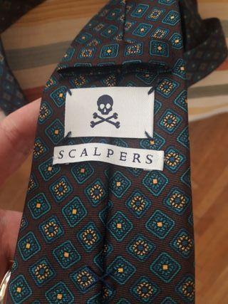 corbata SCALPERS nueva