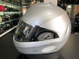 CASCO SHARK EVOLINE GRIS talla M