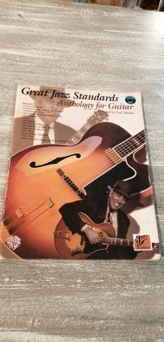 Jazz Anthology for Guitar Partituras