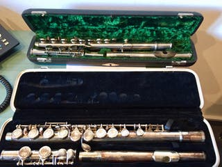 2 Flautas traveseras