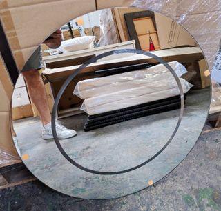 Espejo 60cm de diametro nuevo