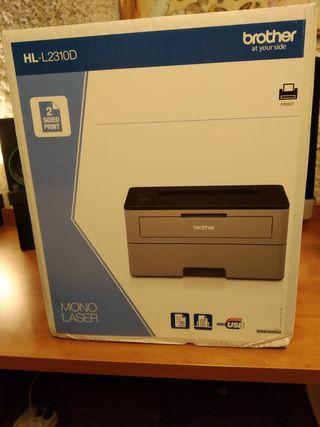 Impresora laser NUEVA Brother HL-L2310D