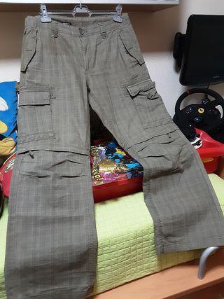 pantalon hombre convertible