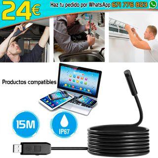 Cámara Espia inspección USB Baroscopio Endoscopio