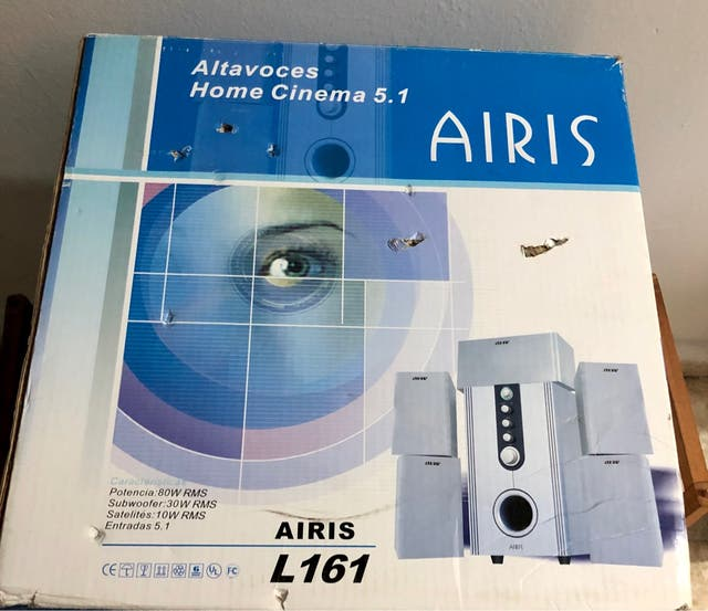 Altavoces Home Cinema 5.1 Airis