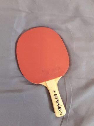 Pala de ping pong, seminueva.