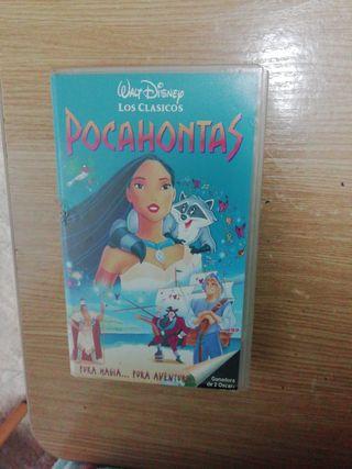 Películas Disney en VHS
