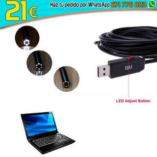 Cámara Espía inspección USB Baroscopio Endoscopio