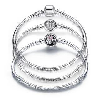 Réplicas de pulsera de plata Pandora