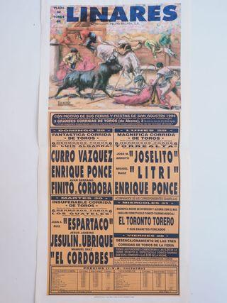 Cartel de plaza de toros 1994