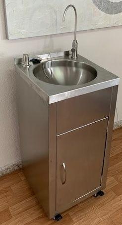 Lavamanos Portátil y Autónomo depósito de 40 lts
