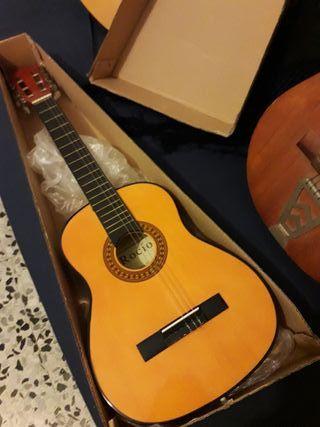 Guitarra aprendizaje niños