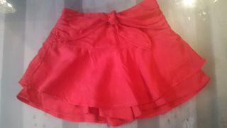 Falda pantalón niña talla 5