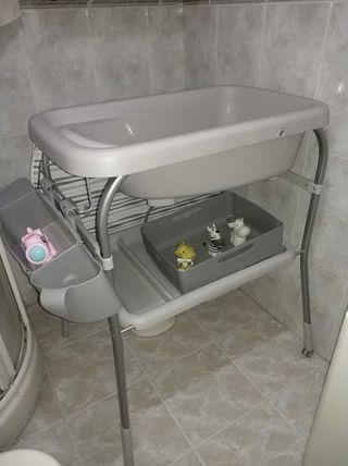 bañera cambiador Chicco plegable