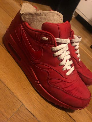 air max 1 rojas