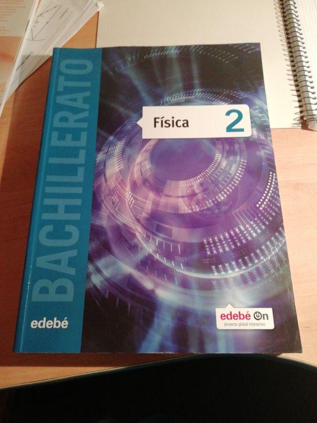 Libro Física 2 bachillerato edebé SIN ESTRENAR
