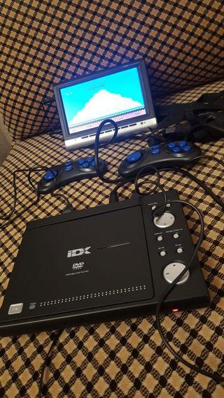 DVD portátil / consola para coche IDX L269