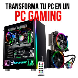 TRANSFORMA TU ORDENADOR EN UN PC GAMING