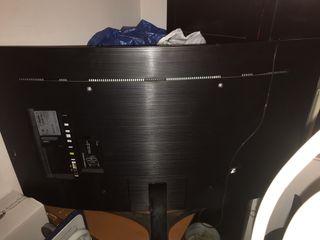 "Tv Samsung curved 49"" para piezas"