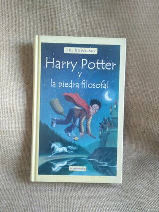 3x2 Harry Potter y la piedra filosofal. Libro