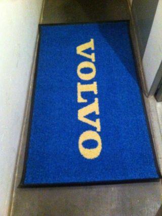 alfombra antideslizante volvo