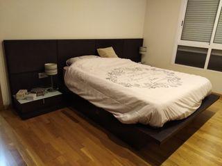 Mueble cama de matrimonio y somier