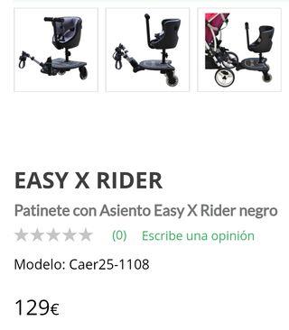 Adaptador asiento carrito bebé