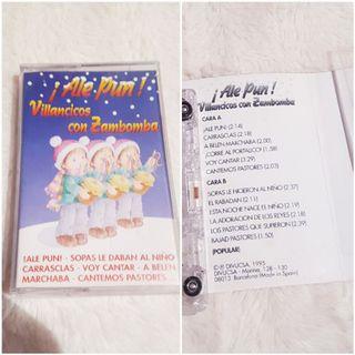 Cinta cassette Villancicos NUEVA