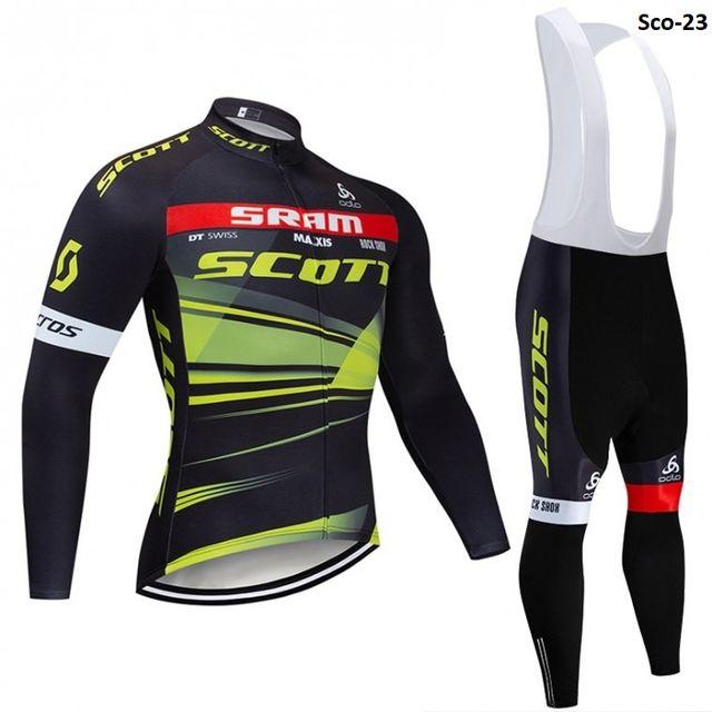 Equipación ciclismo termal Scott-23 t.S,M,XL,XXL