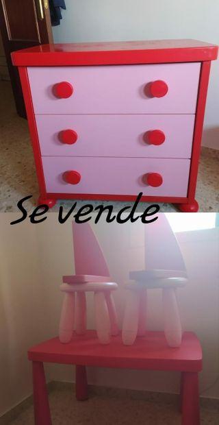 dormitorio infantil IKEA modelo mamut